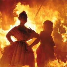 la quemada de las fallas
