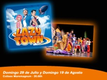 Espectaculo de lazy town
